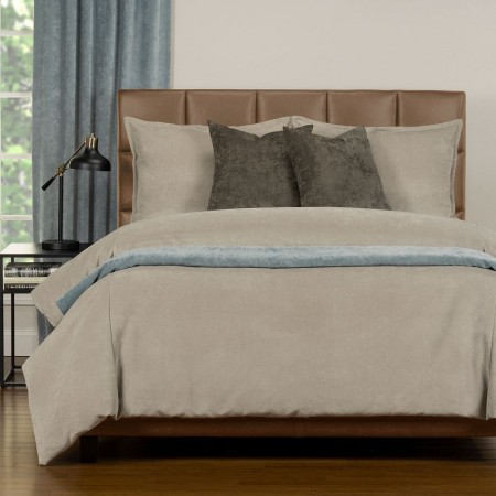 Duvet Cover Set from the Mixology Collection - Full Size - Parchment