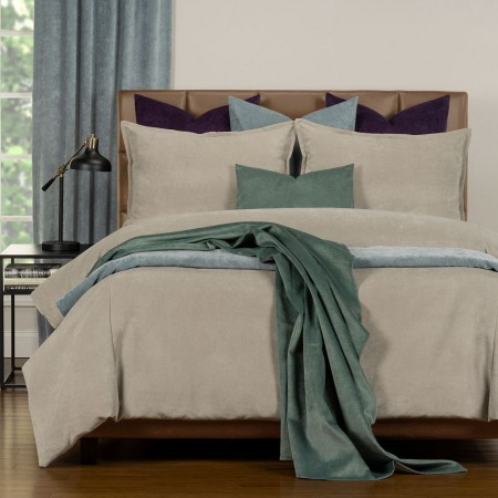 Duvet Cover Set from the Mixology Collection - Twin Size - Harbor Gray