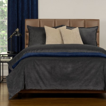 Duvet Cover Set from the Mixology Collection - Full Size - Iron