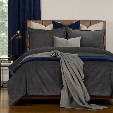 Duvet Cover Set from the Mixology Collection - Twin Size - Iron