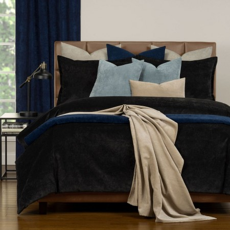 Duvet Cover Set from the Mixology Collection - Queen Size - Night