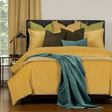 Duvet Cover Set from the Mixology Collection - King Size - Pollen