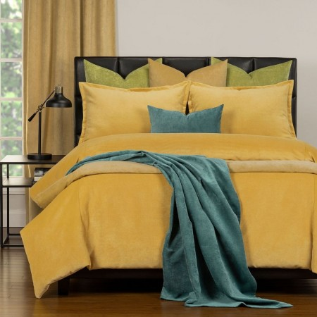 Duvet Cover Set from the Mixology Collection - Full Size - Pollen