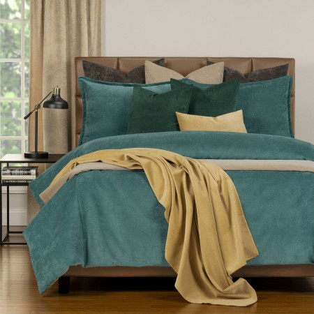 Duvet Cover Set from the Mixology Collection - King Size - Sea Blue