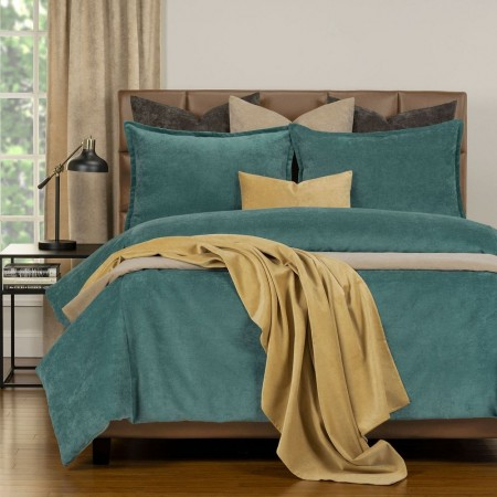Duvet Cover Set from the Mixology Collection - Twin Size - Sea Blue