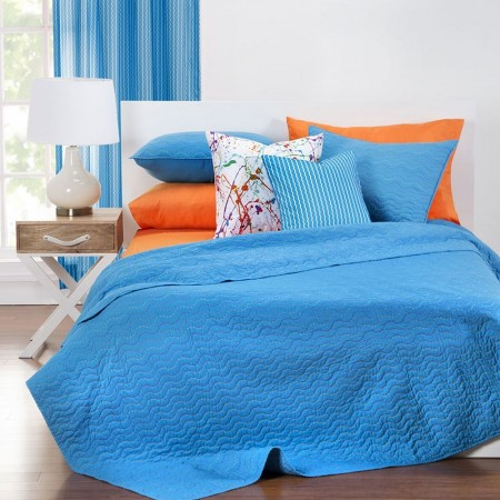 Crayola Quilted Coverlet Sets - Choose from 2 Colors
