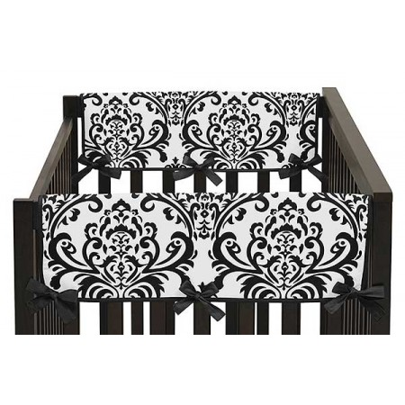 Isabella Black Collection Side Rail Guard Covers - Set of 2