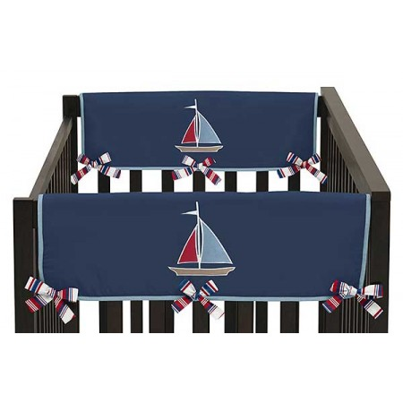 Nautical Nights Collection Side Rail Guard Covers - Set of 2