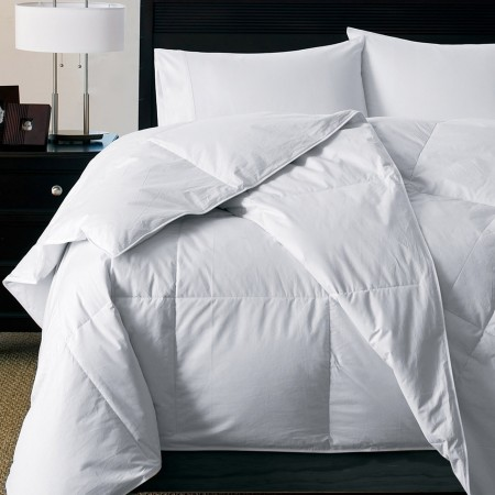White Goose Down Alternative Silky Soft Comforter - Oversize Queen and King Size