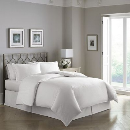 Pearlized Helix Pattern 300 Thread Count Duvet Cover Set
