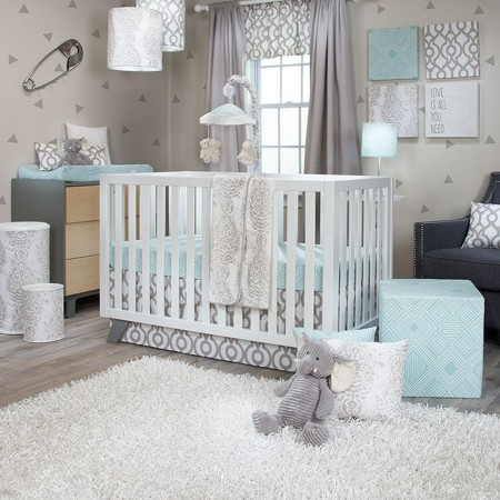 Soho 3 Piece Crib Set - Sweet Potato