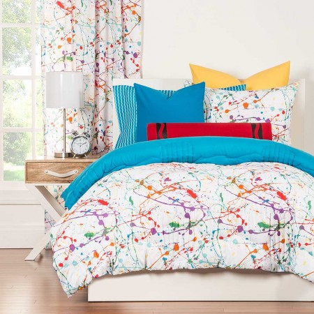 Amazing Splat Comforter Set From Crayola