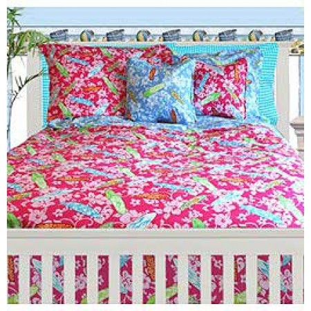 Surfer Girl Bunkbed Topper 4 Corner Hugger Comforters by California Kids