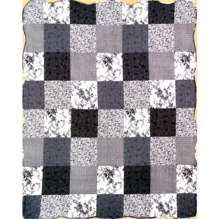 Isabelline Throw Size Quilt