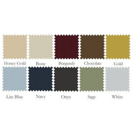 300 Thread Count Solid Color Sofa Bed Sheet Set - 100% Cotton - Select from 10 Colors
