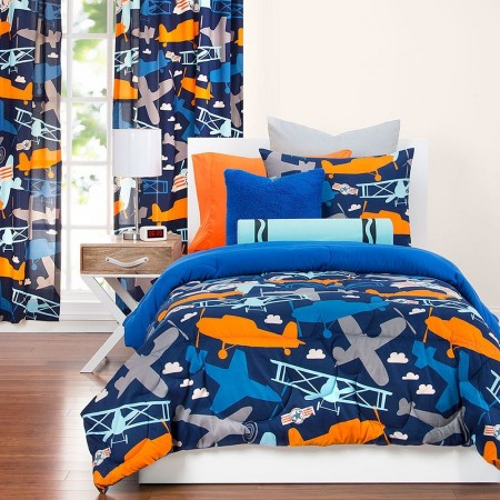 Take Flight Comforter Set from Crayola
