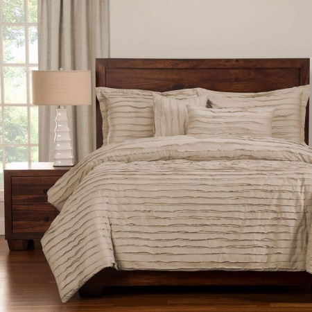 Tattered Almond Bedding Set - Studio Collection