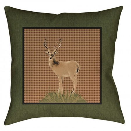 The Lodge Pillow - 20x20 - Deer