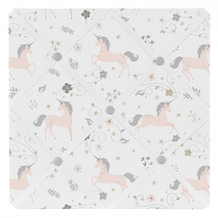 Unicorn Fabric Memo Board