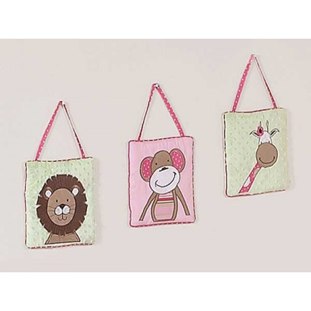 Jungle Friends Wall Hanging