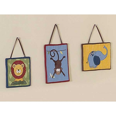Jungle Time Wall Hanging