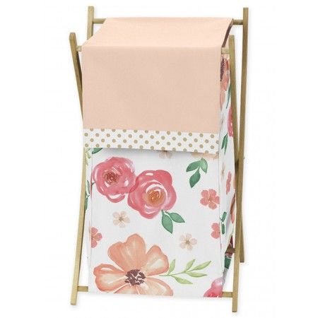 Watercolor Floral Peach and Green Hamper