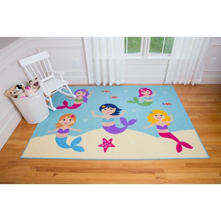 Mermaids Area Rug