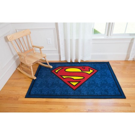 Superman Area Rug