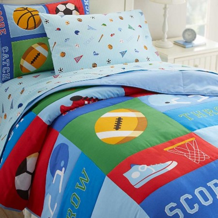 Game On Twin Size Comforter Set by Olive Kids