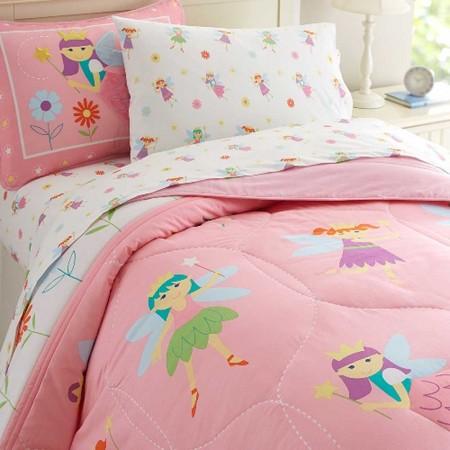 Fairy Princess Twin Lightweight Comforter Set