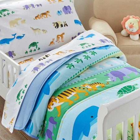 Endangered Animals Toddler Size Comforter by Olive Kids