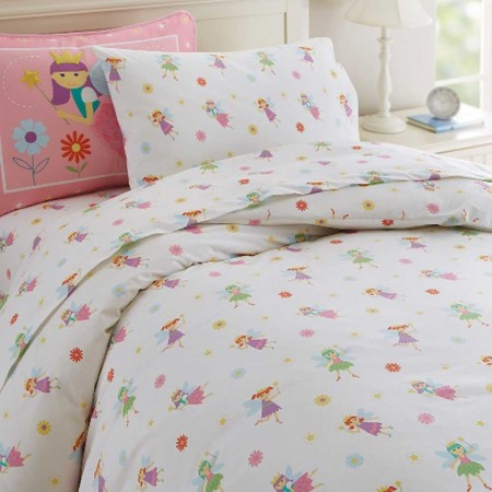 Fairy Princess Twin Size Duvet Cover by Olive Kids