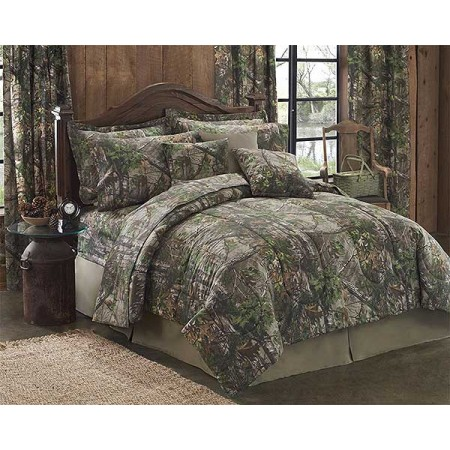 Realtree Xtra Green Camouflage Comforter Set - California King Size