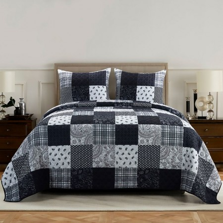 London Quilt Set - Queen Size