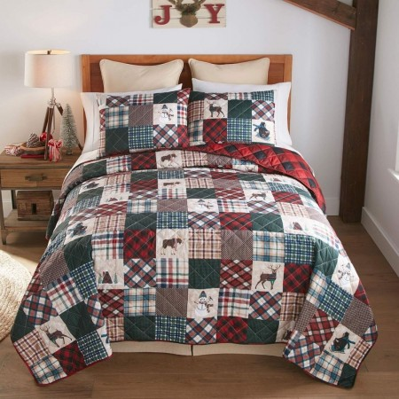 Snow Day Quilt Set - Twin Size