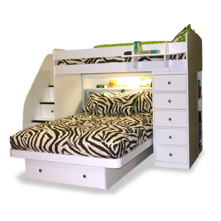 Zebby Bunkbed Comforter by California Kids