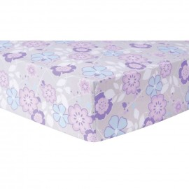 Grace Floral Fitted Crib Sheet