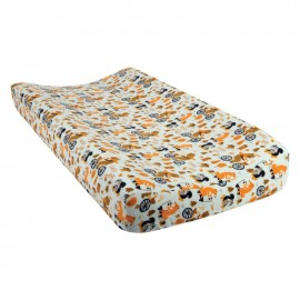 Let's Go Deluxe Flannel Changing Pad Cover