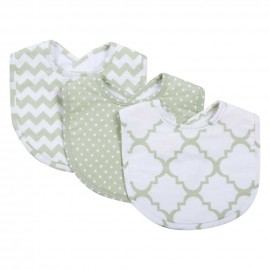 Sea Foam 3 Pack Bib Set