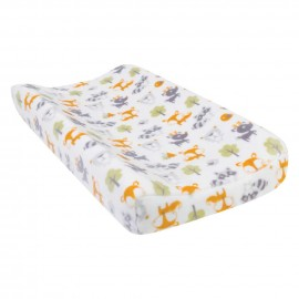 Forest Pals Plush Changing Pad Cover