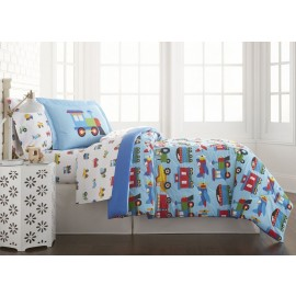 Trains, Planes, Trucks Full Lightweight Comforter Set
