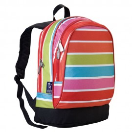Bright Stripes 15 Inch Backpack