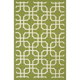 Quantum Apple Green Area Rug - Coastal Style Area Rug