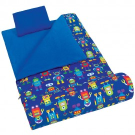 Robots Sleeping Bag by Olive Kids