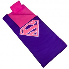 Superman Sleeping Bag by Olive Kids for Girls