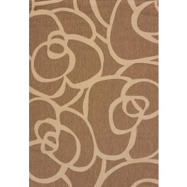 "Veranda Brown Area Rug (94"" X 126"")"