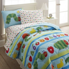 The Very Hungry Caterpillar Twin Size Comforter Set by Olive Kids
