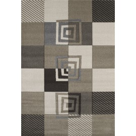 Vibes Beige Area Rug - Contemporary Style