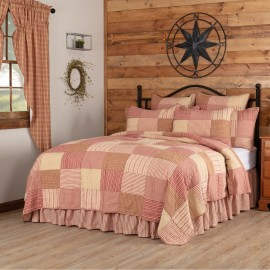 Sawyer Mill Red Quilt - California King Size