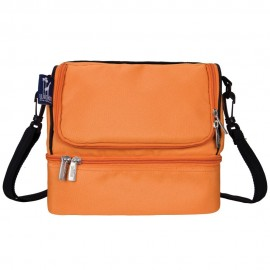 Bengal Orange Double Decker Lunch Bag